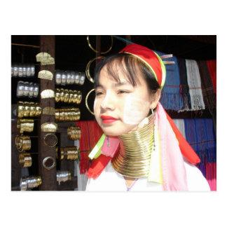 Carte Postale Femme de Padaung