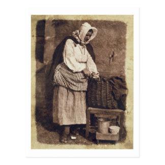 Carte Postale Femme d'huître, 1843-47 (copie de papier de sel de