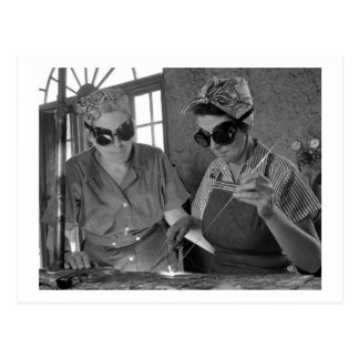 Carte Postale Femmes Welders, 1942 de 2ÈME GUERRE MONDIALE