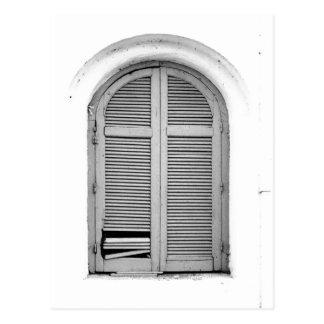 Carte Postale fenêtre