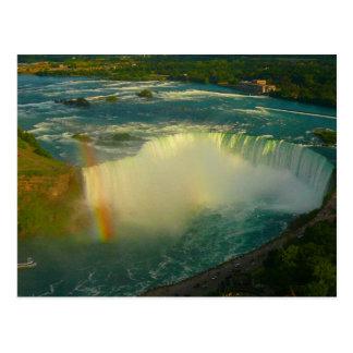Carte Postale fer à cheval de Niagara Falls