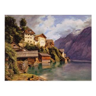 Carte Postale Ferdinand Georg Waldmüller : Hallstatt