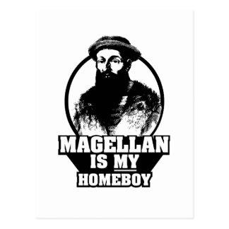 Carte Postale Ferdinand Magellan est mon homeboy