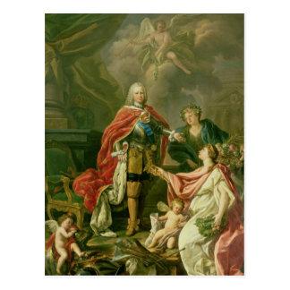 Carte Postale Ferdinand VI comme patron