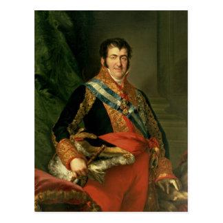 Carte Postale Ferdinand VII 1808-11
