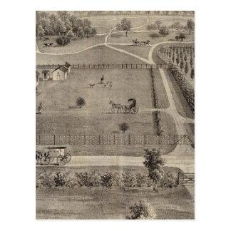 Carte Postale Ferme de Central Park et résidence de parc de Geo