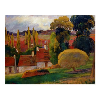 Carte Postale Ferme de Paul Gauguin- en Bretagne