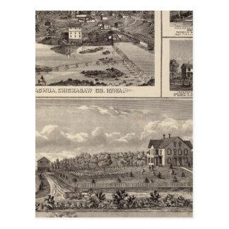 Carte Postale Ferme et résidence de Nashua