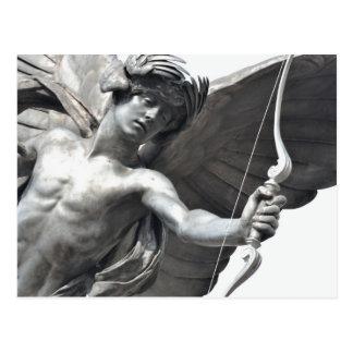 Carte Postale Fermez-vous de la statue d'eros au cirque de