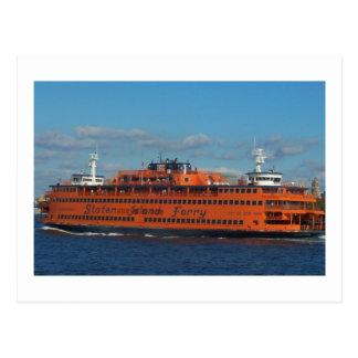 Carte Postale ferry