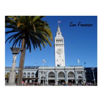Carte Postale Ferry construisant San Francisco