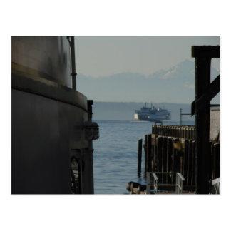 Carte Postale Ferry dans Puget Sound