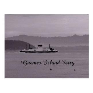 Carte Postale Ferry d'île de Guemes