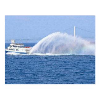 Carte Postale Ferry d'île de Mackinac