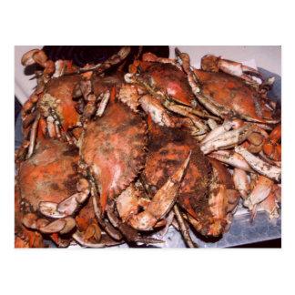 Carte Postale Festin de crabe