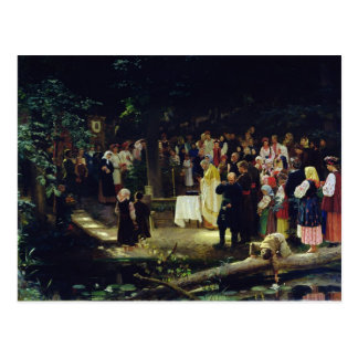 Carte Postale Festin du Transfiguration de notre seigneur
