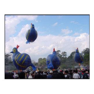Carte Postale Festival chaud de ballon