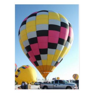 Carte Postale Festival chaud de ballon à air
