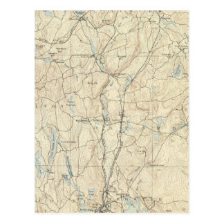 Carte Postale Feuille de 7 Webster