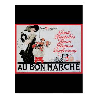 Carte Postale Fève Marche d'Au