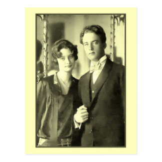 Carte Postale Fiançailles de princesse Astrid et de prince