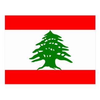 Carte Postale Fièrement Libanais - fier d'être libanais - le