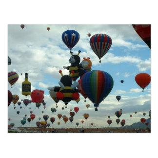 Carte Postale Fiesta de ballon