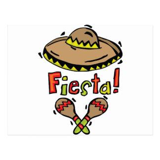 Carte Postale Fiesta du Mexique