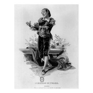 Carte Postale Figaro