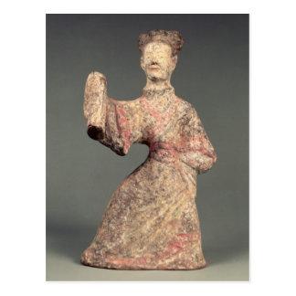 Carte Postale Figure d'un danseur masculin, objet façonné de