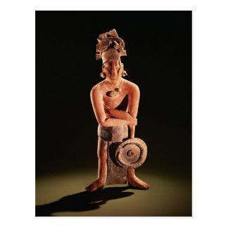 Carte Postale Figure d'un guerrier avec un bouclier