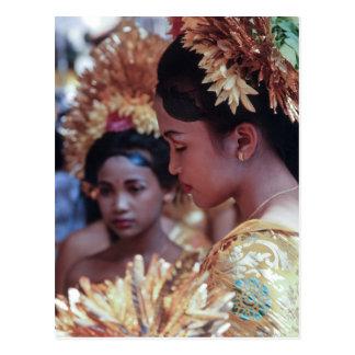 Carte Postale Fille de Balinese
