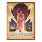 Carte Postale Fille de scène de Las Vegas, Nevada |