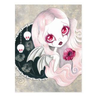 "Carte Postale Fille de vampire : ""Arabella """