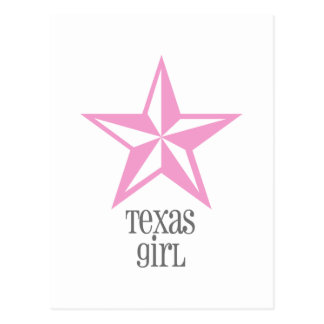 Carte Postale fille du Texas