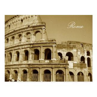 Carte Postale Fin de Colisé de Rome