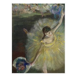 Carte Postale Fin d'Edgar Degas   d'un arabesque, 1877