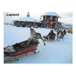 Carte Postale Finlande-père Noël--[kan.k]--jpg