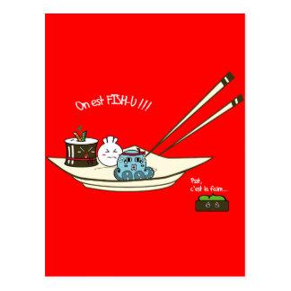 Carte Postale fish-u