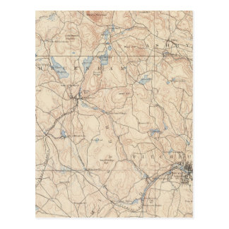 Carte Postale Fitchburg, le Massachusetts