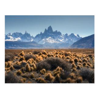 Carte Postale Fitz Roy, Patagonia, Argentine
