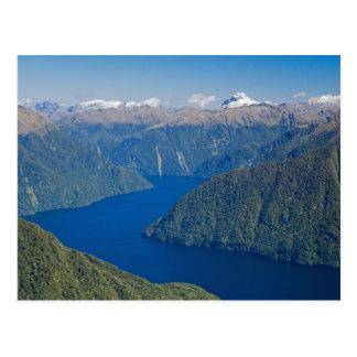 Carte Postale Fjord du sud, lac Te Anau, ressortissant de