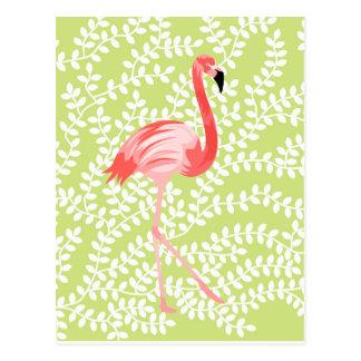 Carte Postale Flamant