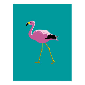 Carte Postale Flamant rose