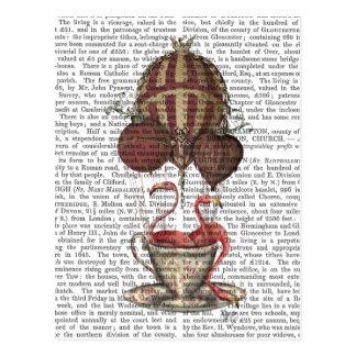 Carte Postale Flamants dans la tasse de thé