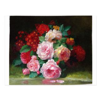 Carte Postale Fleur vintage magnifique