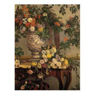 Carte Postale Fleurs de Frederic Bazille-