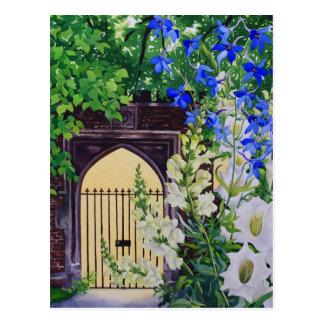 Carte Postale Fleurs par un passage ensoleillé 2008