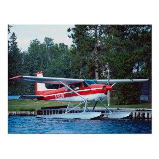 Carte Postale Floatplane de Cessna