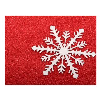 Carte Postale Flocon de neige